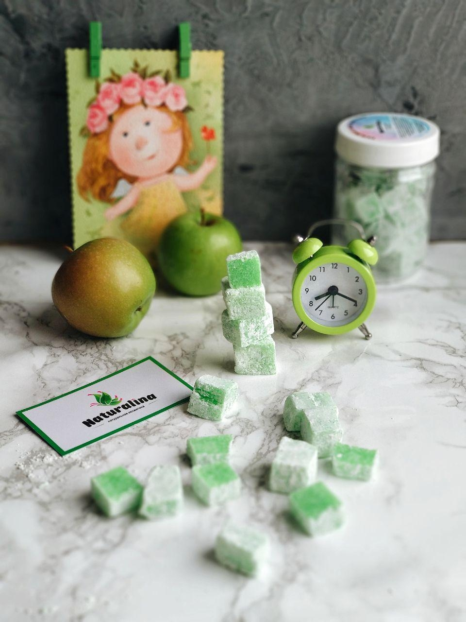 Рахат-лукум Зелёное яблоко - 3